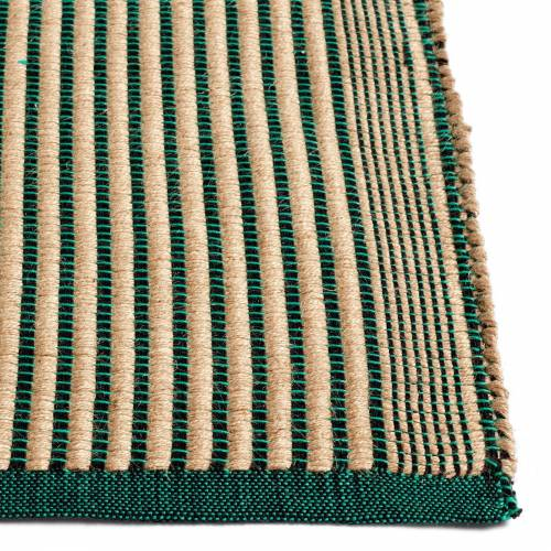Tapis Teppich Black and Green 80 x 200 cm  Hay