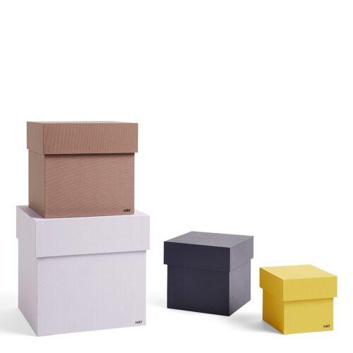 Box Box Aufbewahrungsboxen 4er Set Lavender  Hay