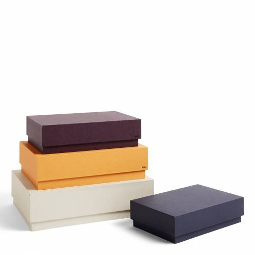 Box Box Desktop Aufbewahrungsboxen 4er Set Warm Sand Hay
