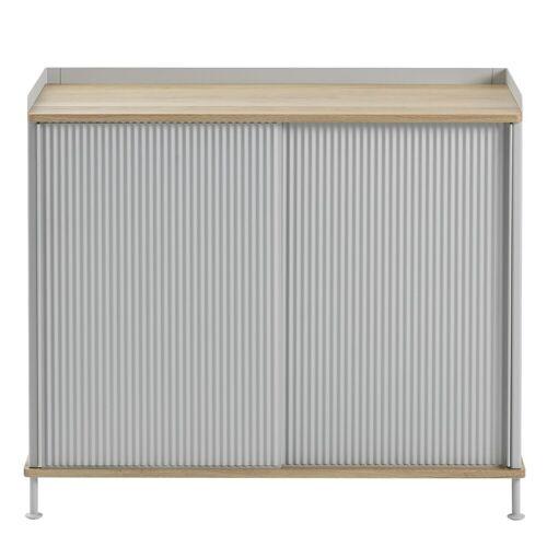 Enfold Sideboard Eiche/Grau 94.5 x 84 cm Muuto