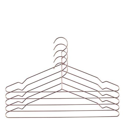 Hang Kleiderbügel 5er Set Kupfer Hay