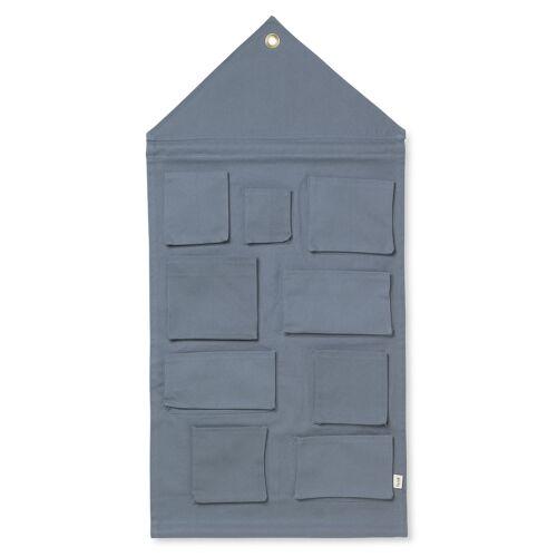 House Hängeaufbewahrung Uni Dusty Blue  Ferm Living