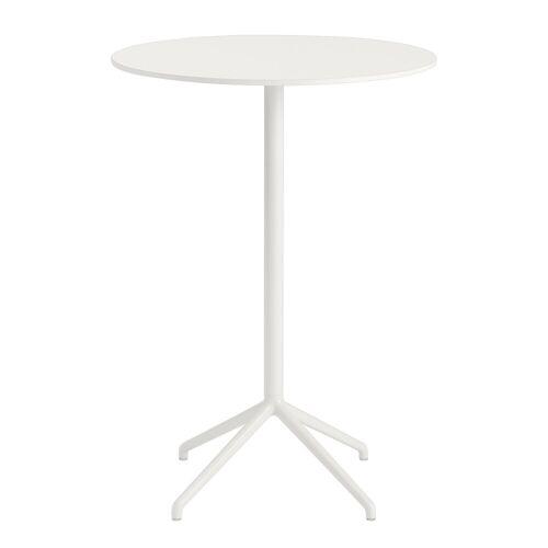 Still Café runder Bistrotisch Weiß 105 cm  Muuto