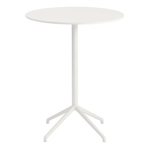 Still Café runder Bistrotisch Weiß 95 cm  Muuto