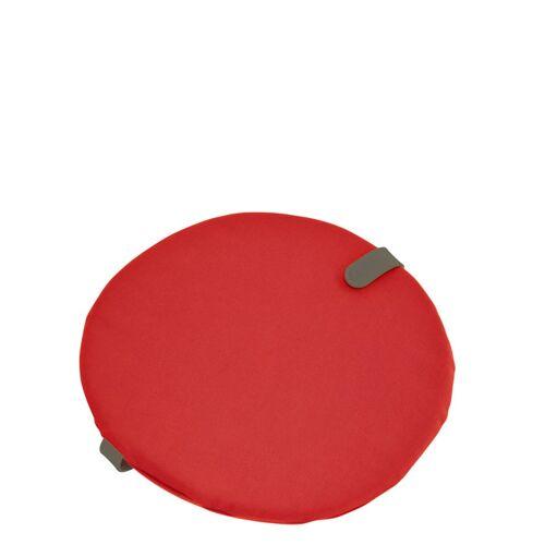 Color Mix rundes Sitzkissen Candyrot  Fermob