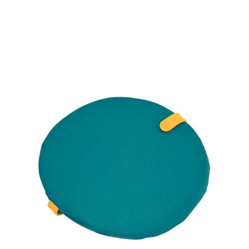 Color Mix rundes Sitzkissen Goablau  Fermob