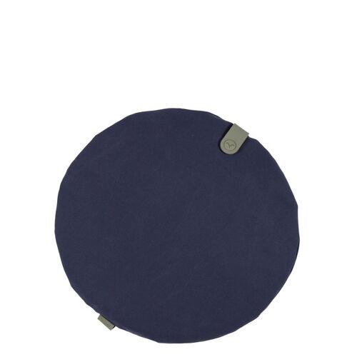 Color Mix rundes Sitzkissen Nachtblau  Fermob
