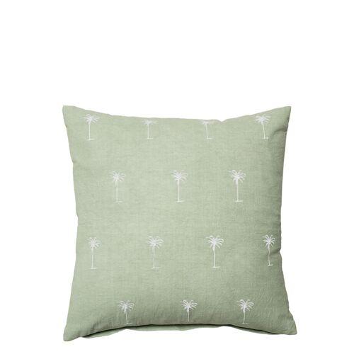 Palmen Kissen 45 x 45 cm Grün Bloomingville Bloomingville