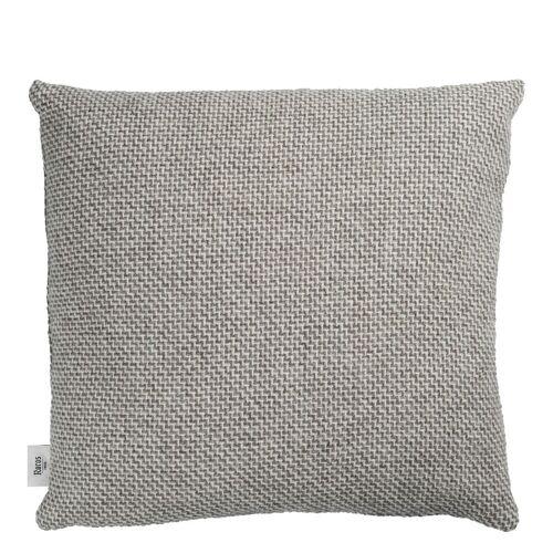 Una Kissen Grau Røros Tweed