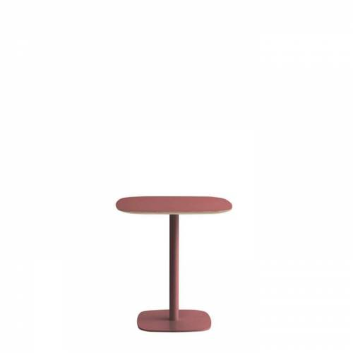 Form Tisch Rot 70 x 70 cm Normann Copenhagen