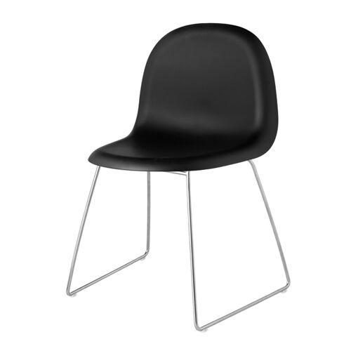 Gubi 1 Stuhl Schwarz Gubi