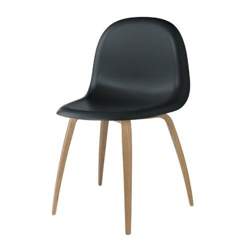 Gubi 5 Stuhl Schwarz Gubi