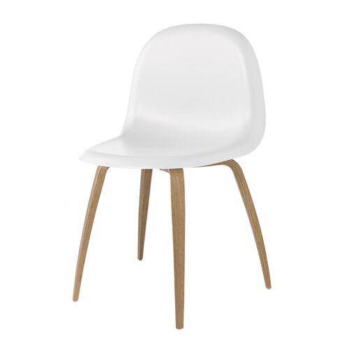 Gubi 5 Stuhl Weiß Gubi