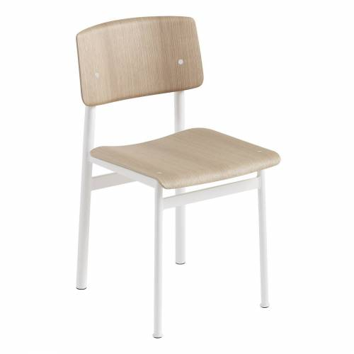 Loft Stuhl Eiche/Weiß  Muuto