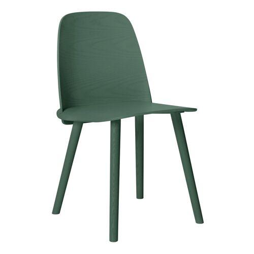 Nerd Stuhl Grün  Muuto