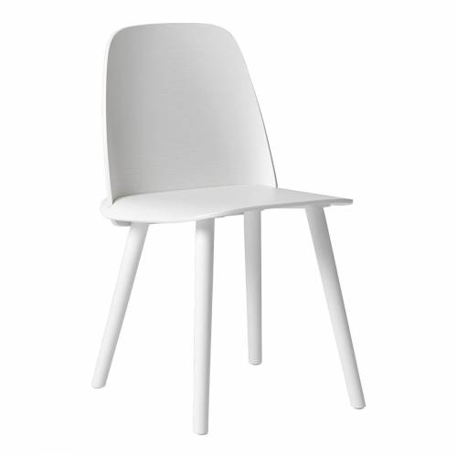 Nerd Stuhl Weiß  Muuto