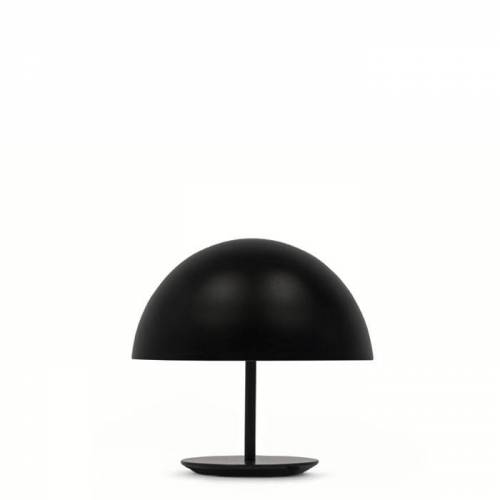 Baby Dome Tischleuchte Schwarz Mater