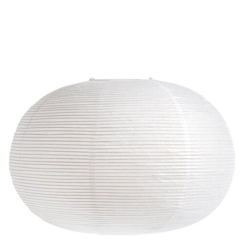 Reispapier Lampenschirm Ellipse Weiß Hay