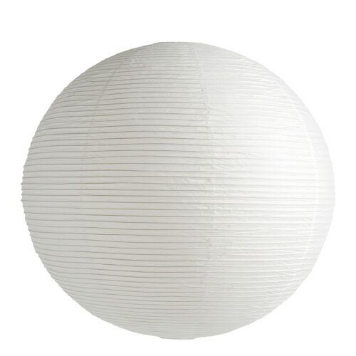 Reispapier Lampenschirm Weiß Ø 50 cm Hay