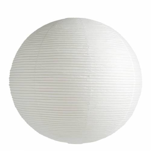 Reispapier Lampenschirm Weiß Ø 80 cm Hay