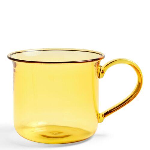 Borosilicate Tasse Gelb Hay