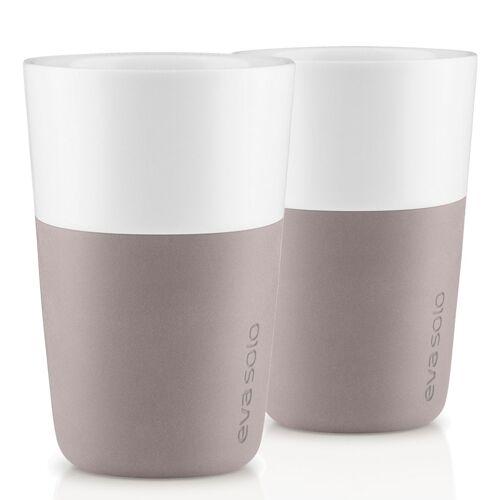 Café Latte Becher 2er Set Warm Grey Eva Solo