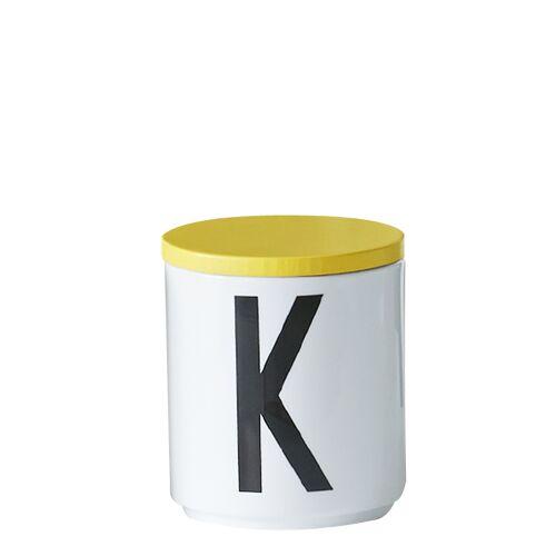 Holzdeckel Gelb  Design Letters