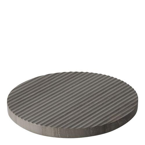 Groove Marmor Untersetzer Grau Large  Muuto