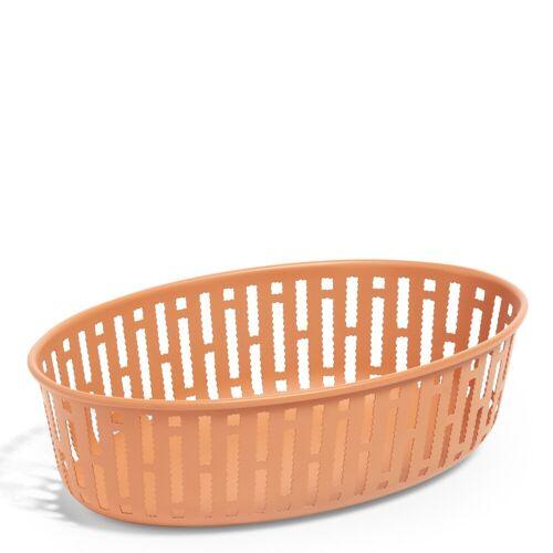Panier Metallkorb oval Rostbraun Hay