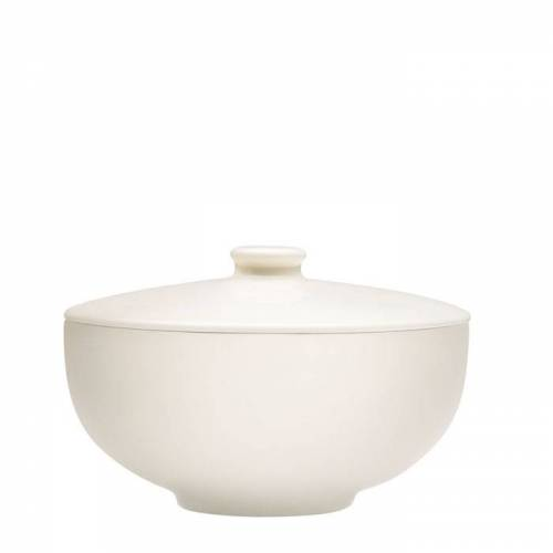 Teema Tiimi Weiß Suppenschüssel mit Deckel Iittala