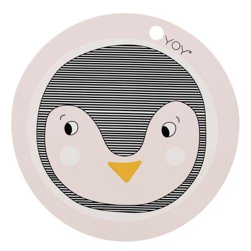 Tischset Pinguin Rose Oyoy