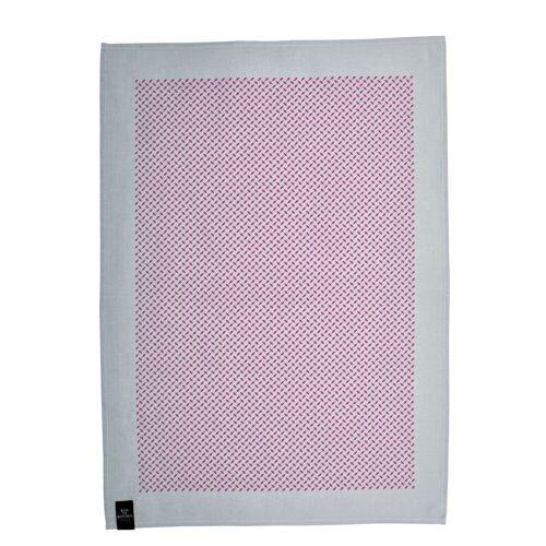 Pali Pur Geschirrtuch Grau/Pink  Kiss my Kitchen