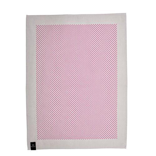 Pali Pur Geschirrtuch Taupe/Pink  Kiss my Kitchen