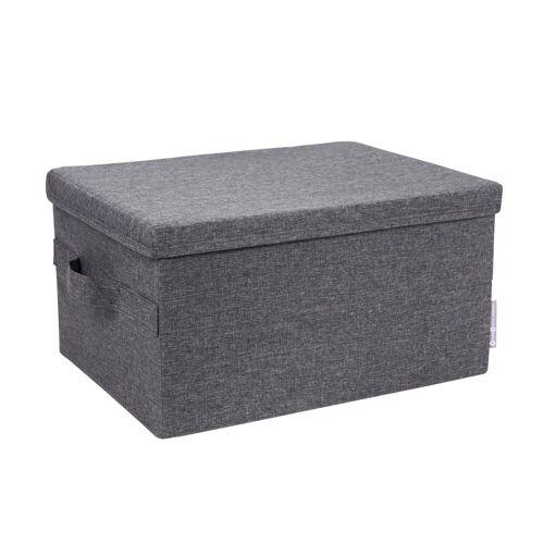Box Aufbewahrungsbox Grau S  Bigso Box of Sweden
