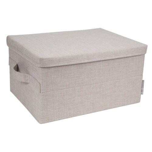 Box Aufbewahrungsbox Beige M  Bigso Box of Sweden
