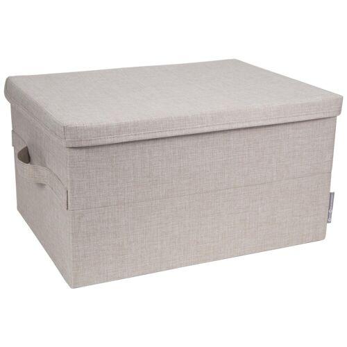 Box Aufbewahrungsbox Beige L  Bigso Box of Sweden
