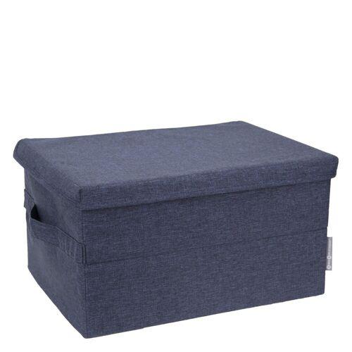 Box Aufbewahrungsbox L Blau Bigso Box of Sweden