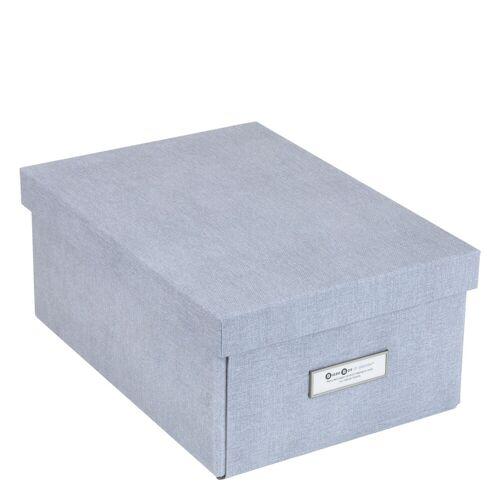 Karin Aufbewahrungsbox M Ash Canvas Bigso Box of Sweden