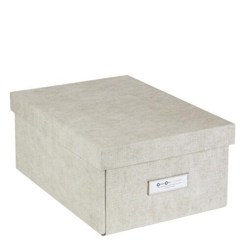 Karin Aufbewahrungsbox M Linen Canvas Bigso Box of Sweden