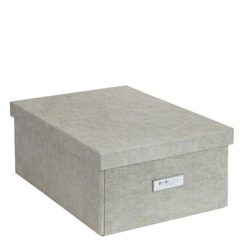Katia Aufbewahrungsbox L Linen Canvas Bigso Box of Sweden