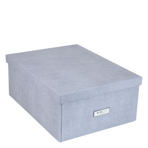 Katrin Aufbewahrungsbox XL Ash Canvas Bigso Box of Sweden