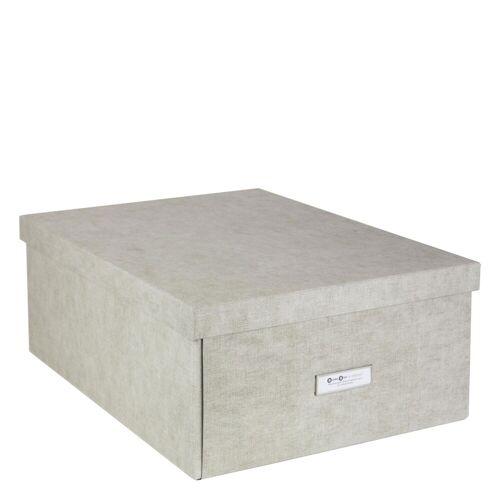 Katrin Aufbewahrungsbox XL Linen Canvas Bigso Box of Sweden