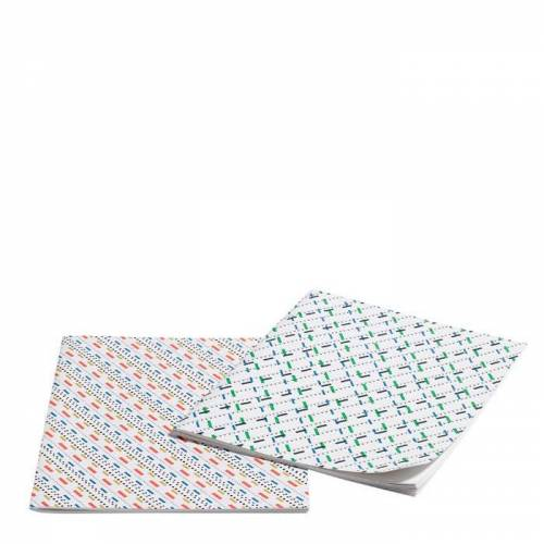 Line Dot Notizbuch 2er L Set  Hay