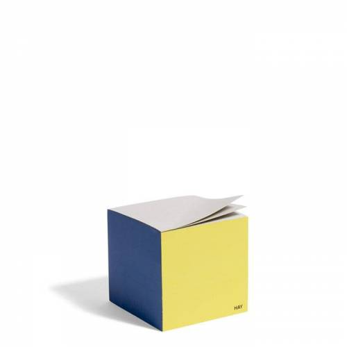Cube Paper Cube Notizzettel Blue Hay