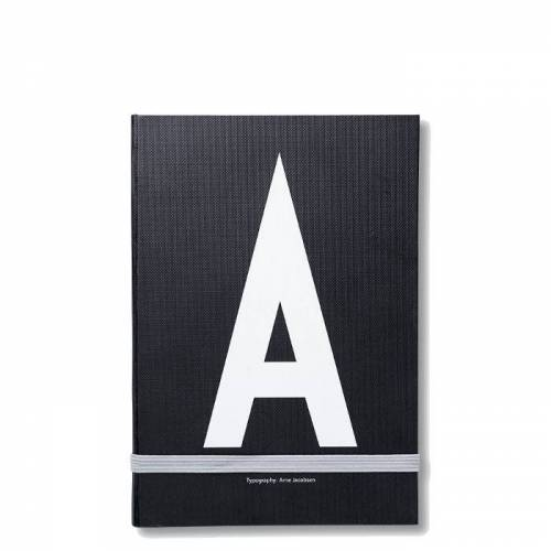 Personal Notizbuch A  Design Letters