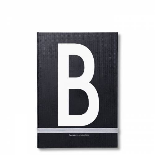 Personal Notizbuch B  Design Letters