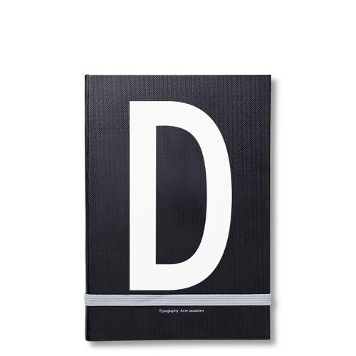 Personal Notizbuch D  Design Letters