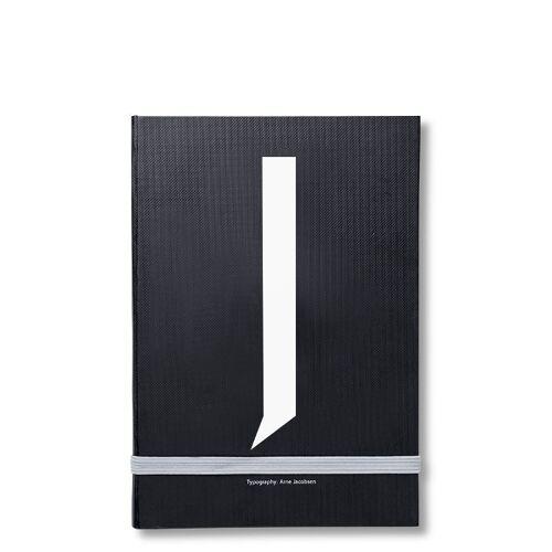 Personal Notizbuch J  Design Letters