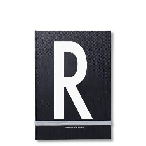 Personal Notizbuch R  Design Letters