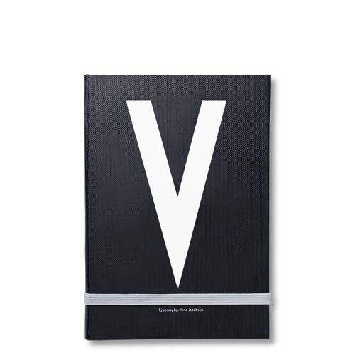 Personal Notizbuch V  Design Letters